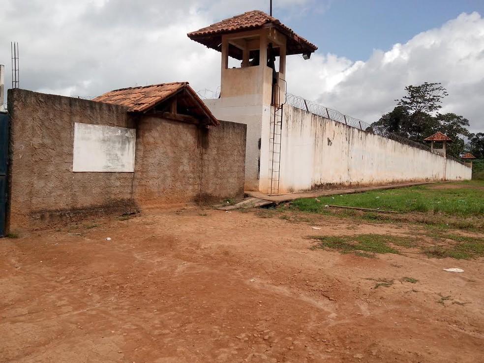 Centro de Recuperação Regional de Altamira, no Pará. — Foto: Glaydson Castro / TV Liberal