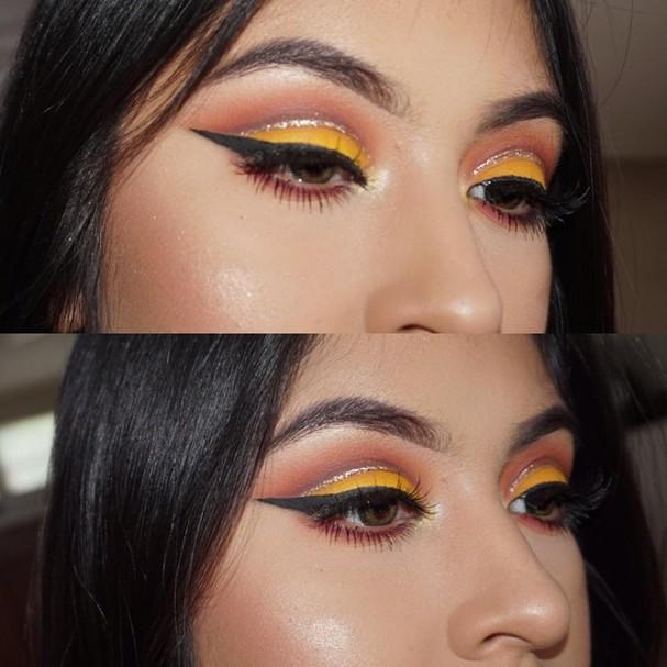 Cut crease (Foto: Reprodução Instagram)
