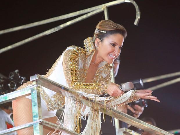 Claudia Leitte puxa bloco Largadinho no Carnaval de Salvador (Foto: Mauro Zaniboni /Ag Haack)