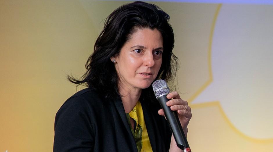 Silvia Valadares, cofundadora da Owl Docs, durante o PEGN Talks (Foto: Nereu Jr.)