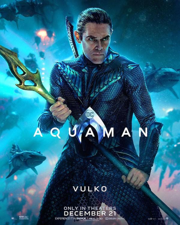 Um dos novos pôsteres do filme do herói Aquaman (Foto: Divulgação)