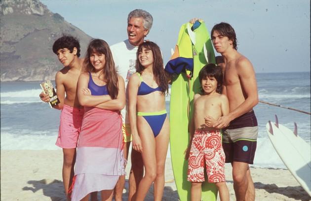 """""""Top model"""" foi reapresentada entre janeiro e julho de 1991, no Vale a Pena ver de Novo (Foto: Globo)"""