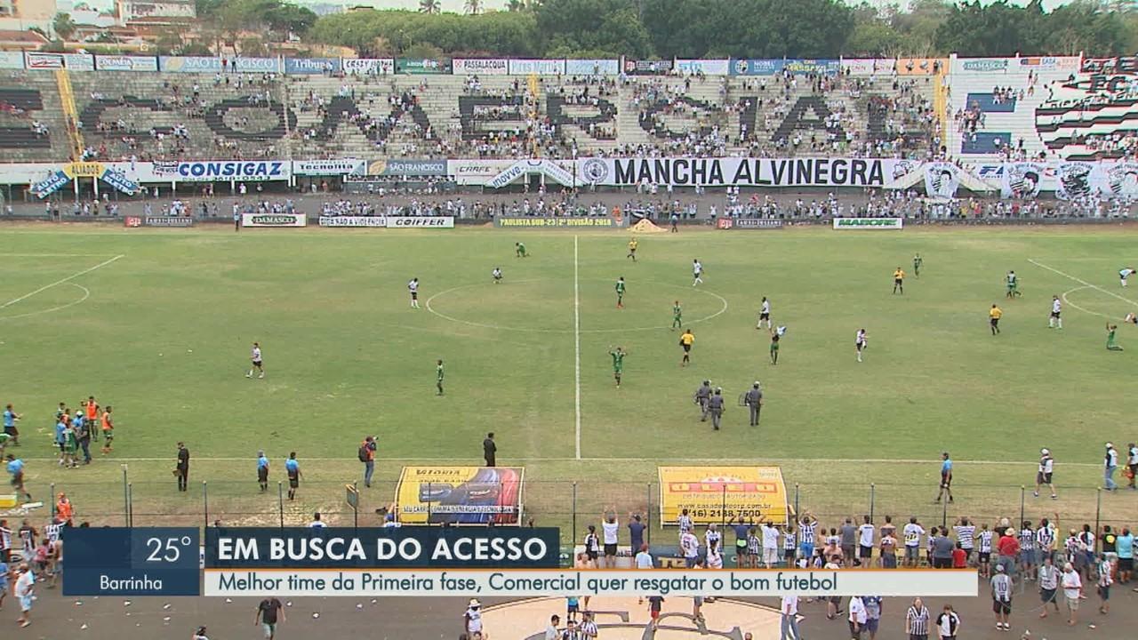 Comercial-SP quer voltar à boa fase e classificar na Segundona do Campeonato Paulista