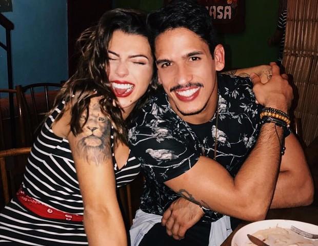 Petra Mattar e Marcos Seixas (Foto: Arquivo Pessoal)