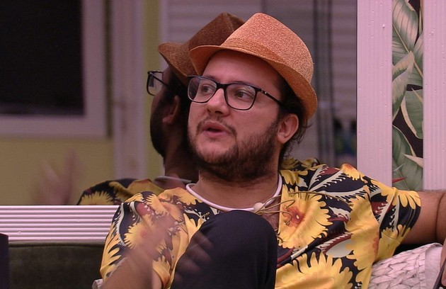 O sétimo participante mais comentado foi Diego, eliminado no dia 20 de março (Foto: TV Globo)