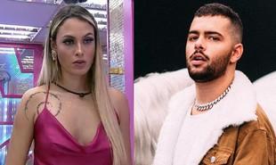Numa festa do 'BBB' , Sarah falou para Pocah sobre o envolvimento com o DJ Pedro Sampaio | Reprodução