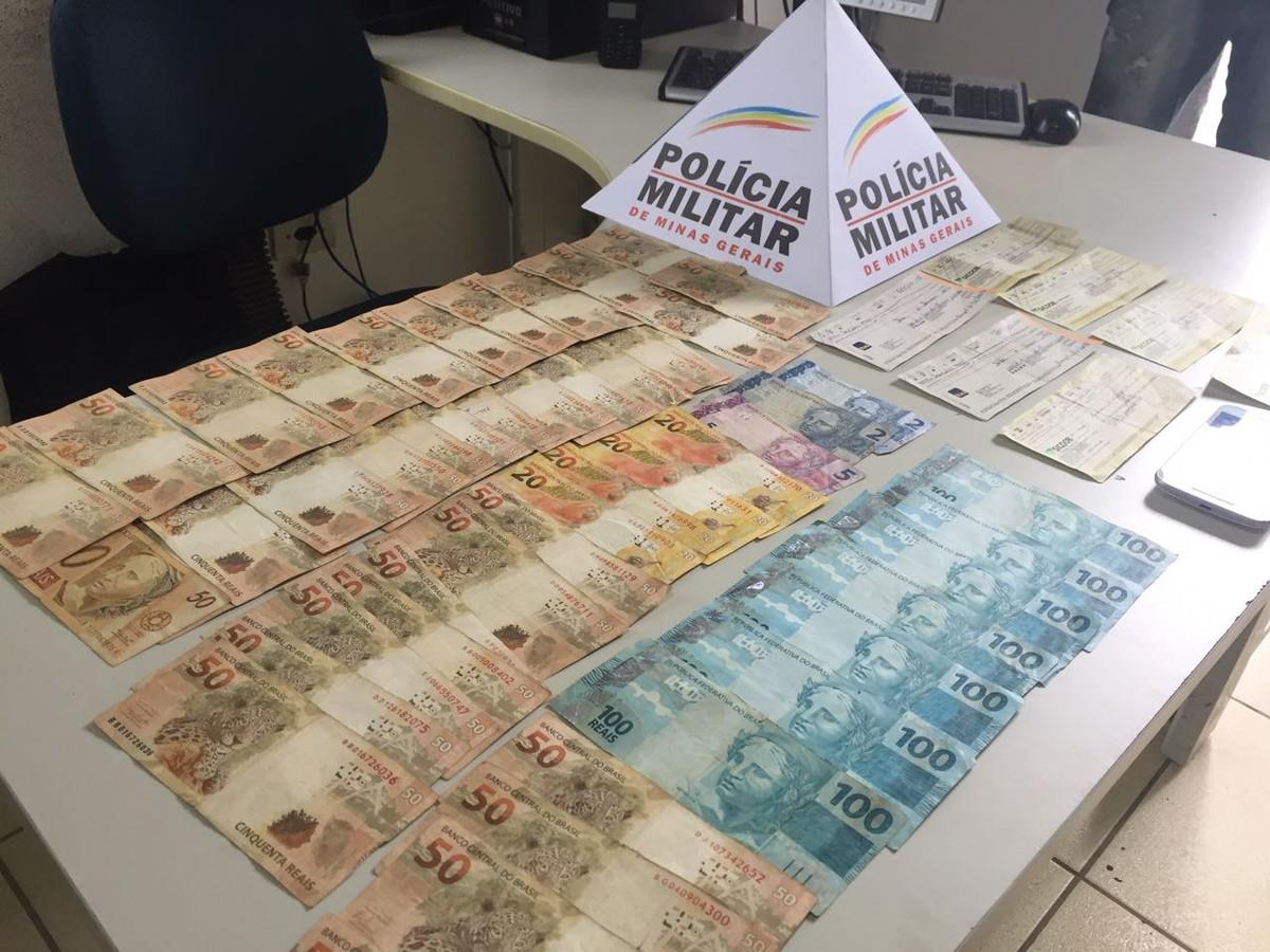Mulher é presa por furto após fugir com dinheiro de companheiro no Norte de Minas