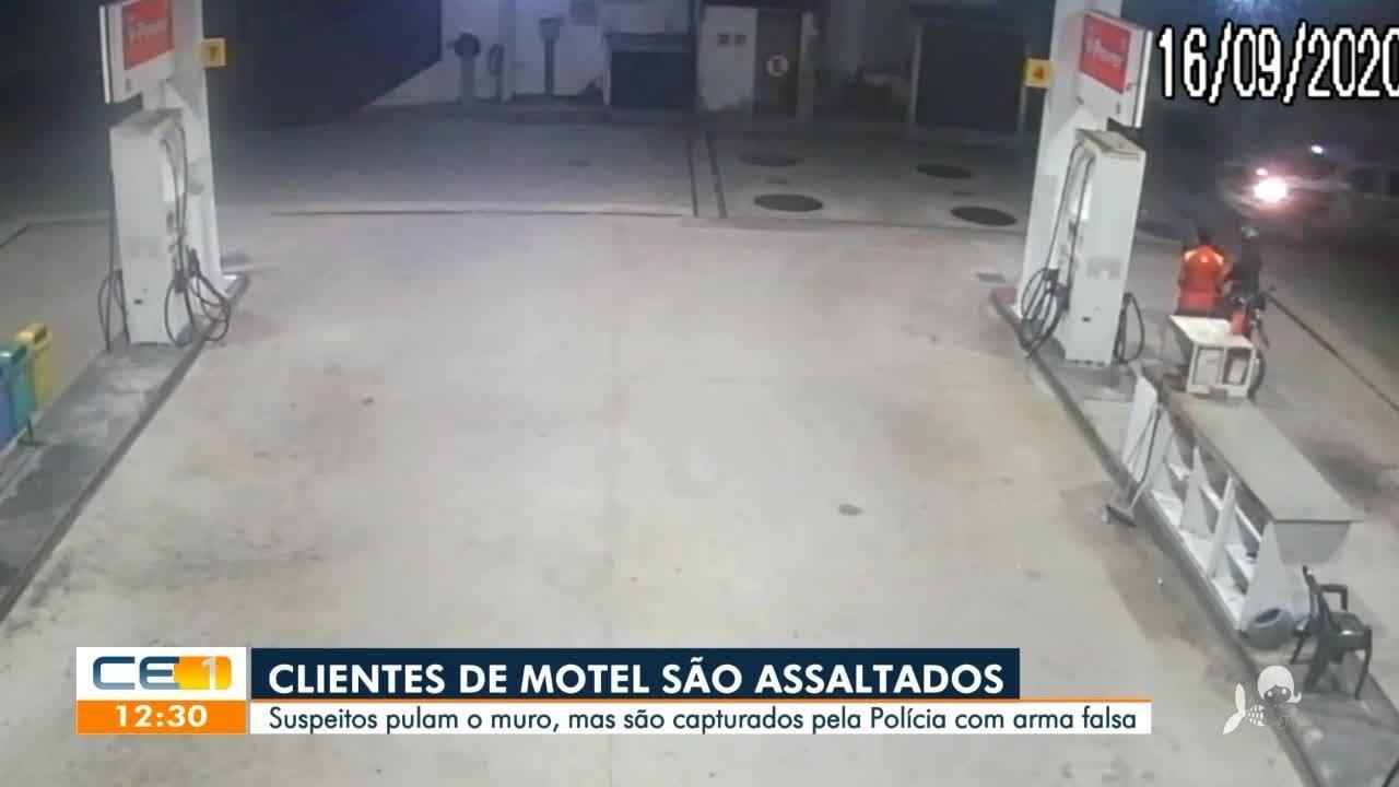 Clientes de motel são assaltados em Fortaleza