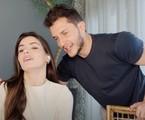Camila Queiroz e Klebber Toledo relembram início do namoro   Reprodução