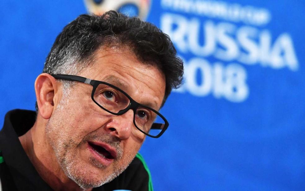 Juan Carlos Osorio, técnico do México (Foto: Pascal Guyot / AFP Photo)