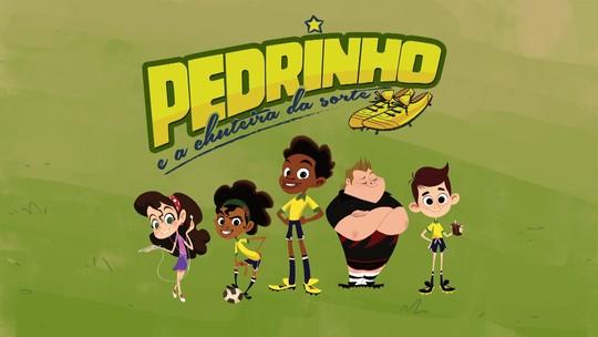Foto: (Pedrinho e seus amigos estão chegando na tela da TV Paraíba)