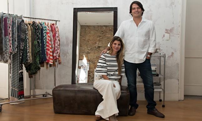 Claudia e Roberto Jatahy: fatia da família vale R$ 2 bi
