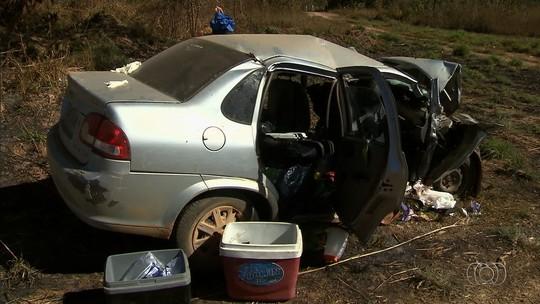 Motorista bebeu antes de acidente que o matou junto com a mulher e dois filhos na BR-080, dizem testemunhas