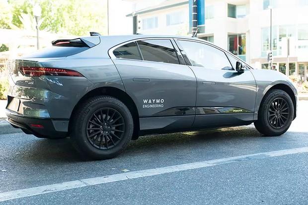 Jaguar I-Pace Waymo  (Foto: divulgação)