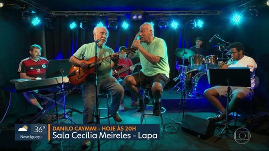 Para o feriadão: Danilo Caymmi faz show gratuito na Sala Cecília Meireles e Ana Costa canta em Niterói