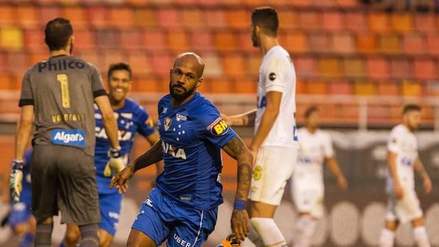 Santos Cruzeiro Bruno Silva