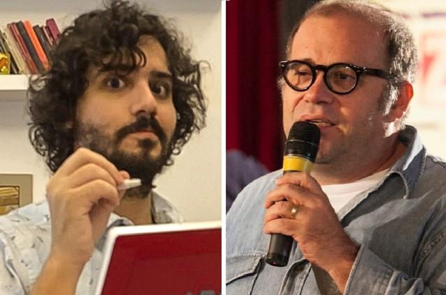 George Sauma e Otávio Muller (Foto: Divulgação/TV Globo)