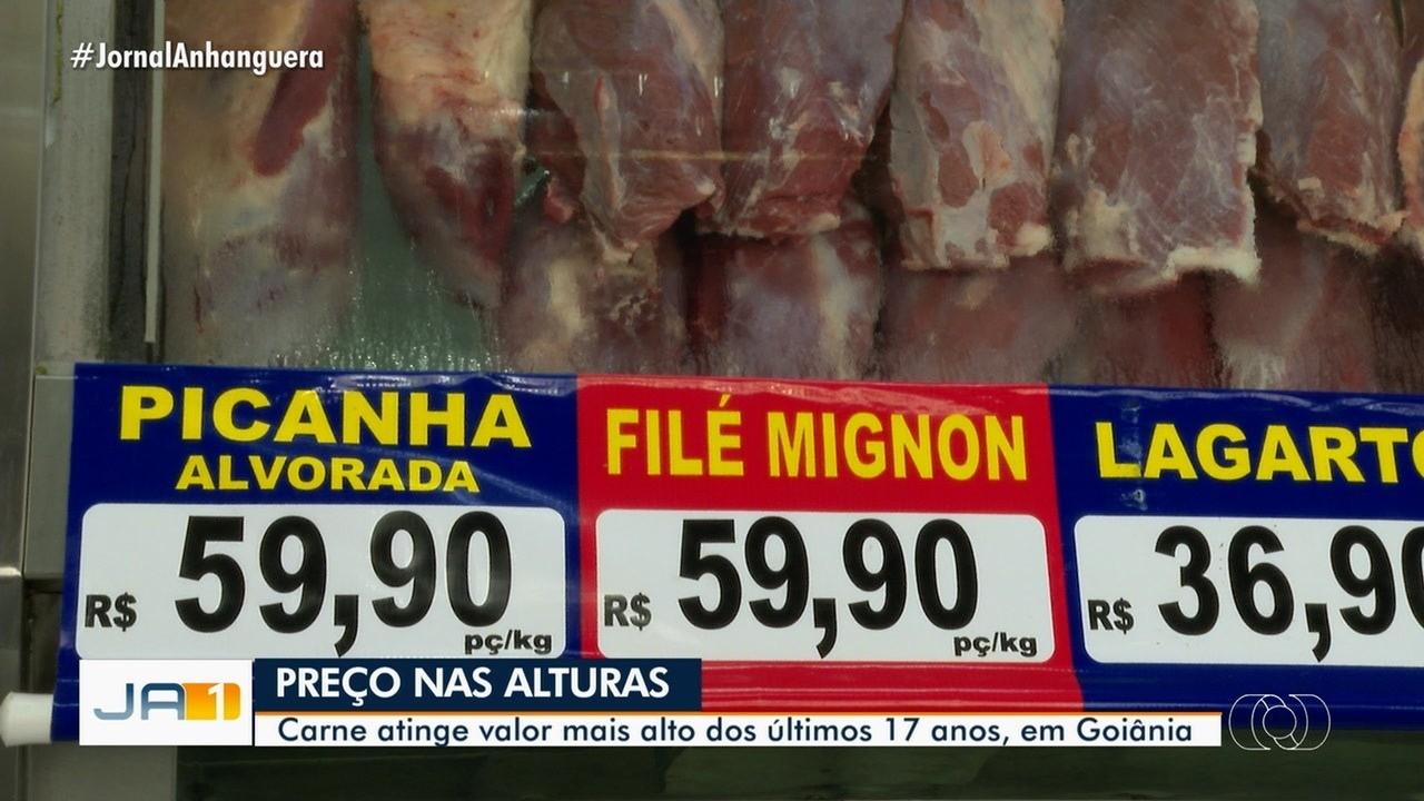 Goiânia tem maior alta na carne vermelha nos últimos 17 anos