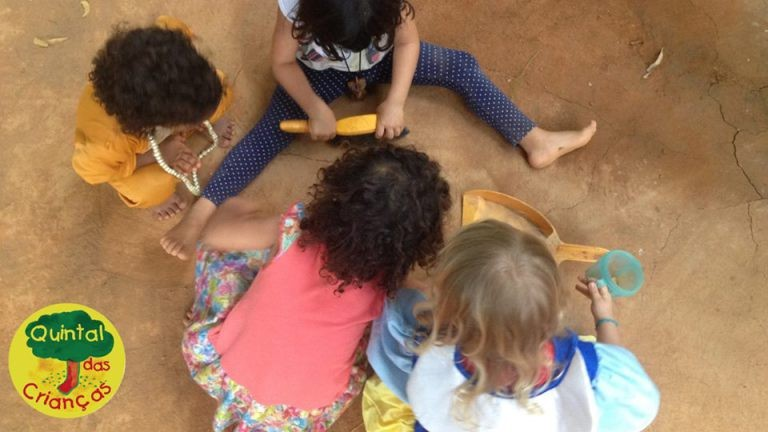 O Quintal das Crianças promove a autonomia ao brincar (Foto: Divulgação)