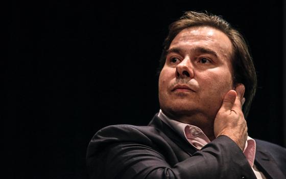Rodrigo Maia Presidente da Câmara dos Deputados (Foto: Suamy Beydoun / AGIF/AFP)