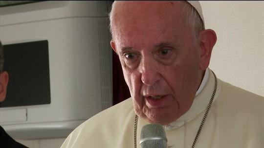 Papa reconhece que há casos de freiras vítimas de padres
