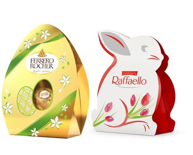 Embalagens da Ferrero Rocher vêm com 3 bombons e custam apenas R$9,90 (Foto: Divulgação)