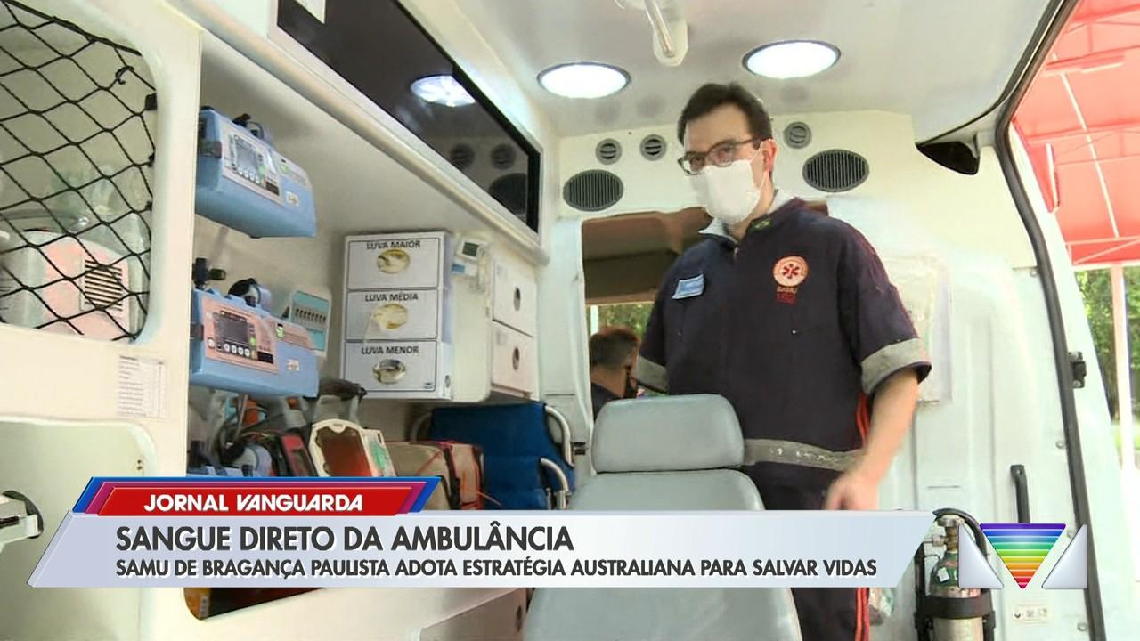 Samu de Bragança Paulista adota estratégia australiana para salvar vidas