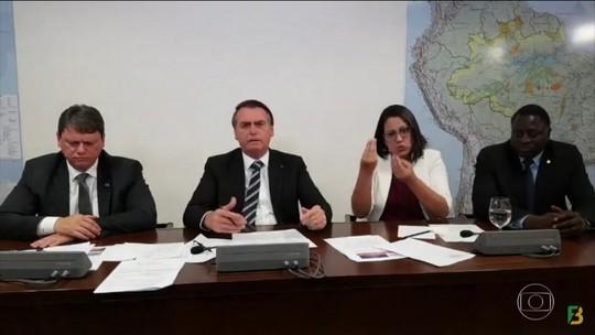Bolsonaro defende a indicação do filho Eduardo para a embaixada dos EUA