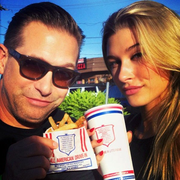 Stephen Baldwin e Hailey Baldwin (Foto: Instagram)