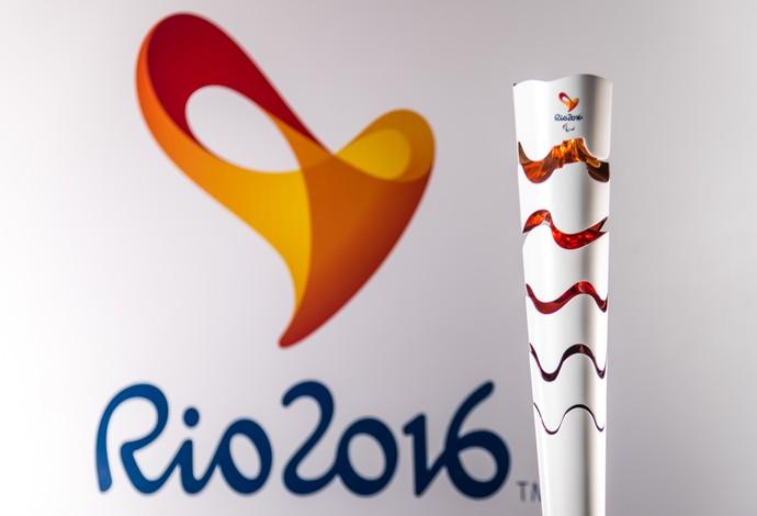 Tocha paralímpica Rio 2016 (Foto: Divulgação/Rio 2016)
