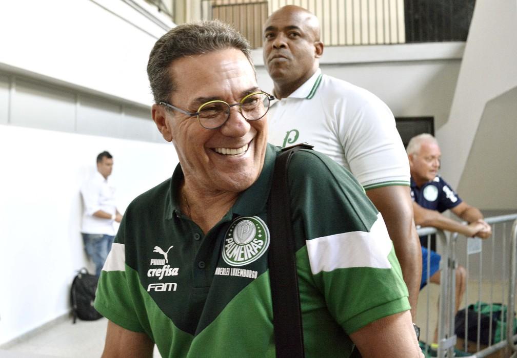 Vanderlei Luxemburgo tem contrato com o Palmeiras até o fim de 2021 — Foto: Marcos Ribolli
