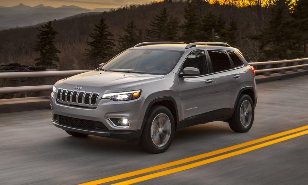 Jeep Cherokee 2019 (Foto: Divulgação)