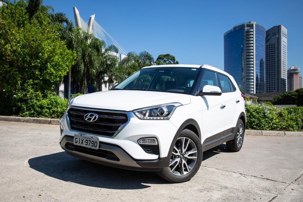 Hyundai Creta Prestige — Foto: Fábio Tito/G1