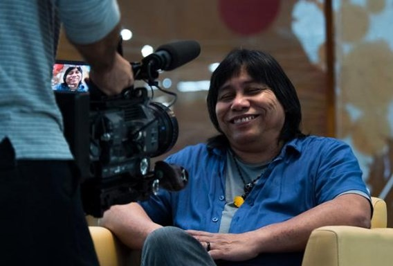 Daniel Munduruku (Foto: Alinne Tuffengdjian)