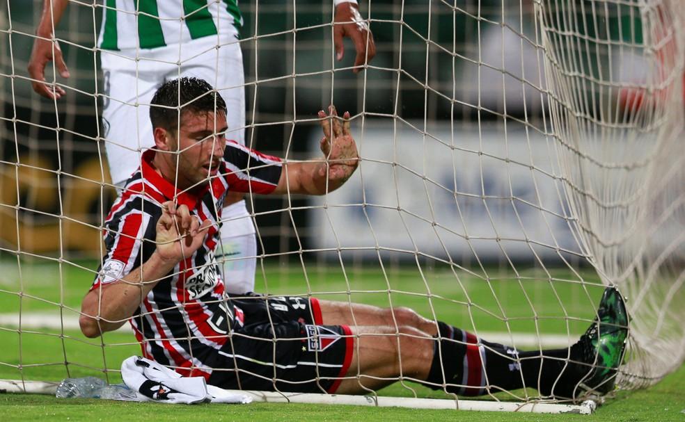 São Paulo foi eliminado para o Atlético Nacional na Libertadores de 2016 (Foto: Reuters)