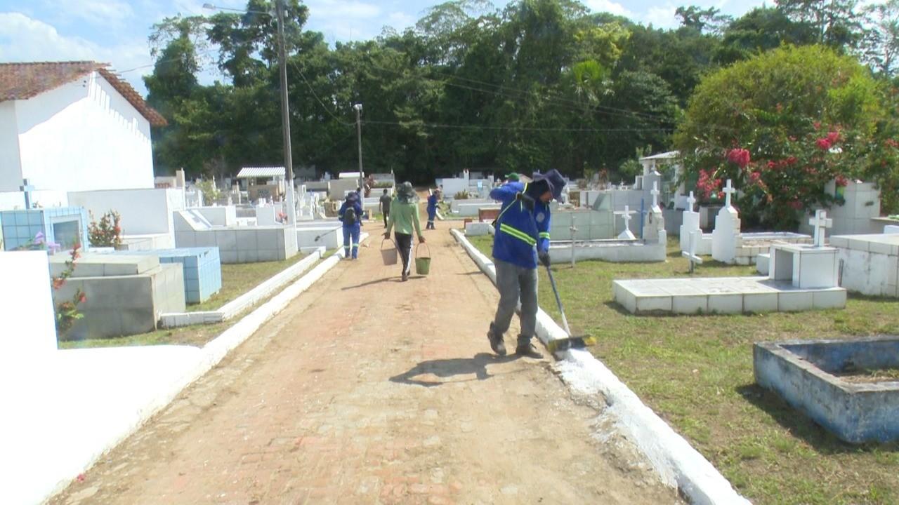 Mais de 5 mil túmulos foram reformados para visitações do Dia de Finados em Cruzeiro do Sul
