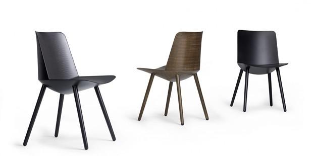 Cadeiras foram desenhadas por Jin Kuramoto e fabricadas pela sueca OFFECCT (Foto: Divulgação)