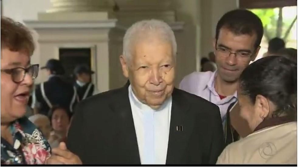 Dom José Maria Pires, arcebispo emérito da Paraíba (Foto: Reprodução/TV Cabo Branco)