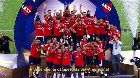 Redação AM: Walter Nelson narra título do Independiente