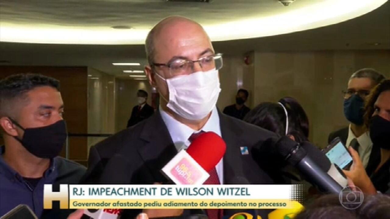 Witzel pede para adiar sessão de impeachment, mas tribunal mantém interrogatório