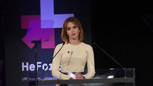 Emma Watson é uma das atrizes que defendem publicamente os direitos das mulheres (Foto: Getty Images via BBC News Brasil)