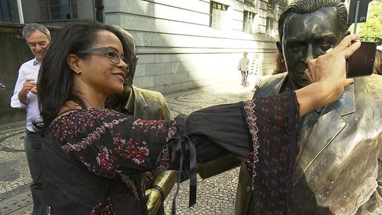 Circuito Turístico mostra a vida e a obra de escritores mineiros homenageados com estátuas