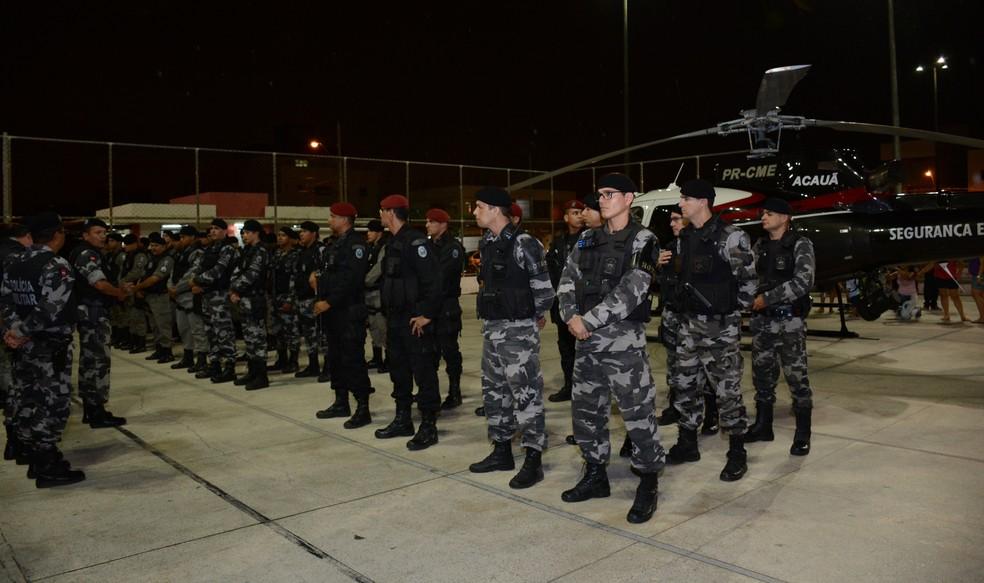 Concurso para Polícia Militar prevê 900 vagas sendo 850 delas para o sexo masculino (Foto: Wagner Varela/PMPB)
