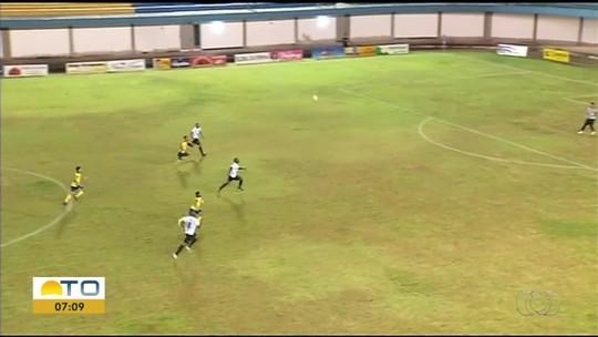 Volante do Atlético Cerrado comemora ponto fora contra o Sparta; veja os gols