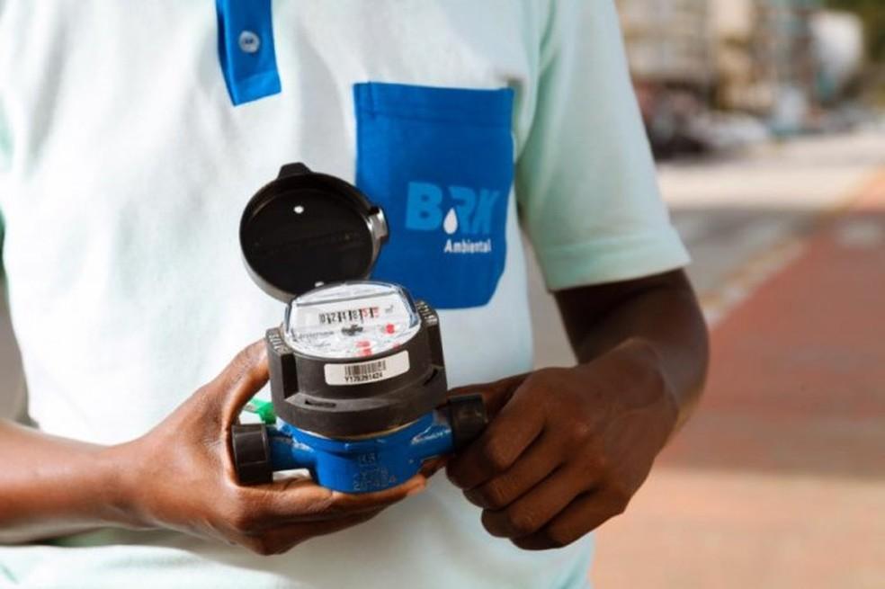 BRK anuncia troca de hidrômetros em Maceió — Foto: Ascom/ BRK