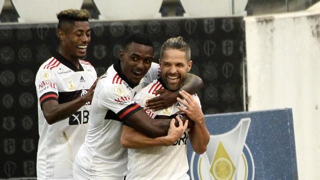 Assista os melhores momentos da goleada do Flamengo