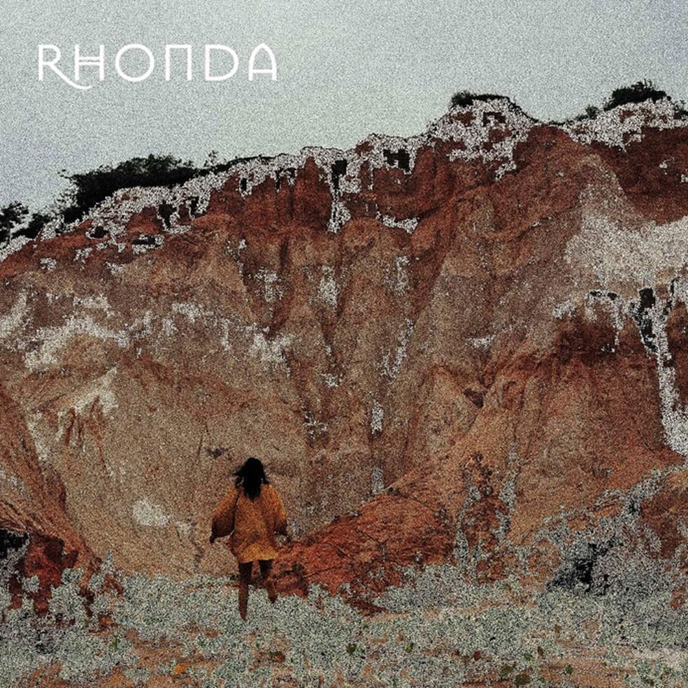 Capa do álbum 'Rhonda', de Silvia Machete — Foto: Arte de Pedro Colombo