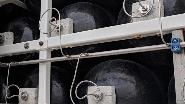 Uma vantagem do hidrogênio é poder armazená-lo e transportá-lo facilmente (Foto: ALAMY)