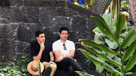 Murilo e Antonio Benício falam da relação de pai e filho e como um inspira o outro na carreira de ator