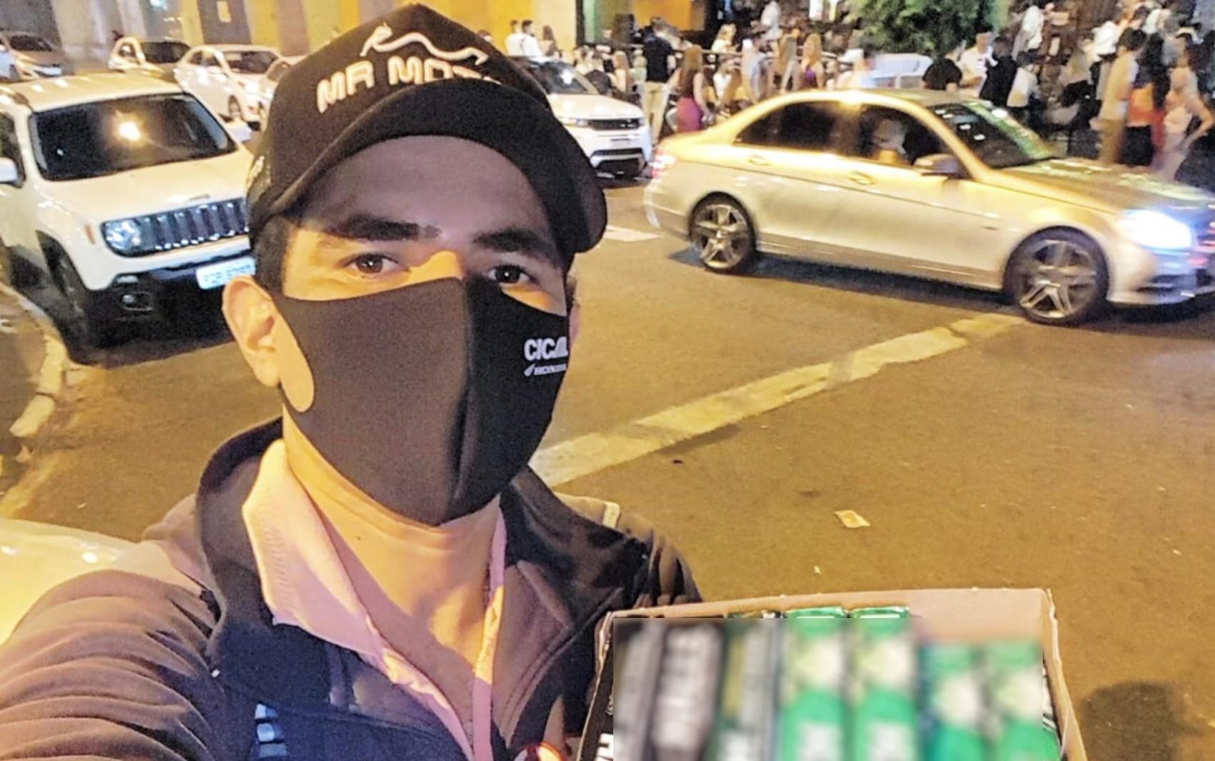 Homem suspeito de agredir ambulante em Goiânia diz que estava bêbado e não se lembra do que fez